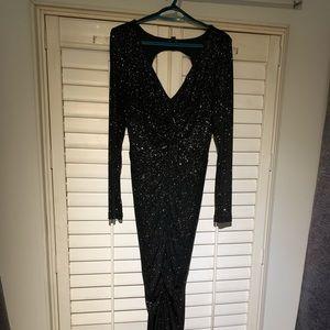 le chateau Dresses - Black glittery dress